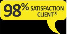 98% des clients recommandent le gel de massage Argel7 en pot