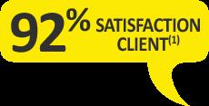 92% des clients recommandent le gel de massage Argel7 en tube